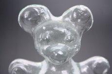 画像2: 北欧 ガラスオブジェ/クリスタル ベア  (2)