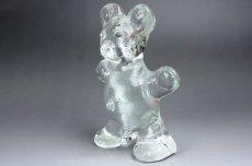 画像3: 北欧 ガラスオブジェ/クリスタル ベア  (3)