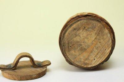 画像2: 北欧雑貨 白樺ミニボックス/丸