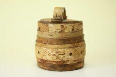 画像2: 北欧雑貨 白樺ミニボックス/丸 (2)