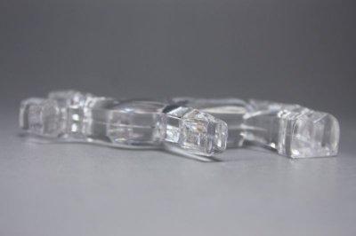 画像3: 北欧雑貨 ガラスオブジェ/トナカイ