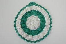 画像1: 北欧 手編みの鍋敷き/ポットホルダー (1)