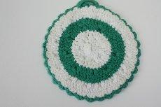 画像5: 北欧 手編みの鍋敷き/ポットホルダー (5)