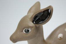 画像2: Upsala Ekeby Dorothy Clough Bambi/ウプサラエクビイ ドロシー・クラフ バンビ (2)