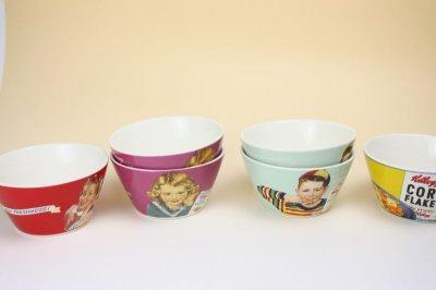 画像1: Vintage Kellogg Bowl/ヴィンテージ ケロッグ ボウル