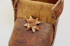 画像2: 北欧 白樺/木靴の小物入れ (2)