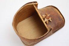画像8: 北欧 白樺/木靴の小物入れ (8)