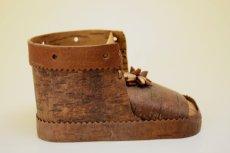 画像4: 北欧 白樺/木靴の小物入れ (4)