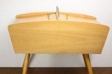 画像12: 北欧アンティーク/ソーイングテーブル 備品付 (12)