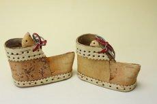 画像4: 北欧 白樺オブジェ/木靴 (4)