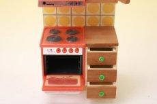 画像6: Lundbyドールハウス/ミニチュア家具 レンジ (6)
