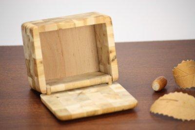 画像3: 北欧手作り ねずの木の木箱 (L)