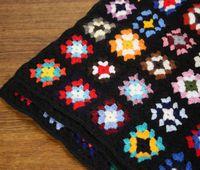 モチーフ編みブランケット