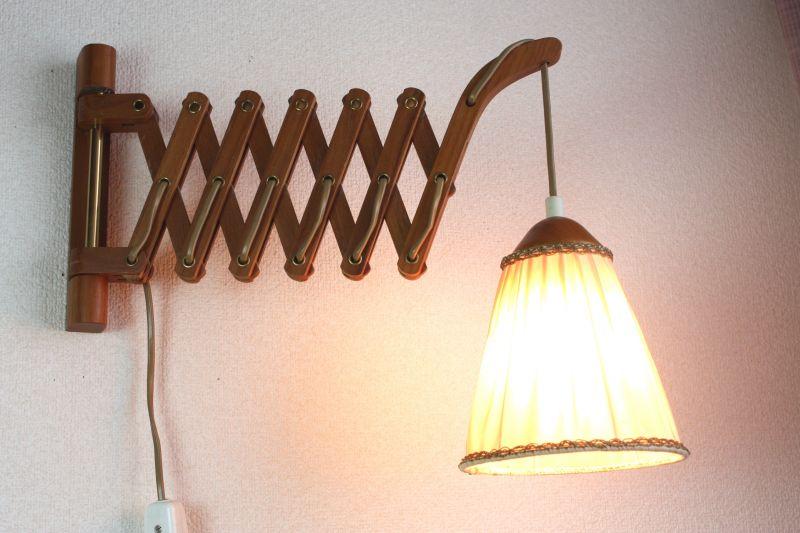 画像1: 北欧アンティーク照明/壁掛けライト(ウォールランプ) (1)