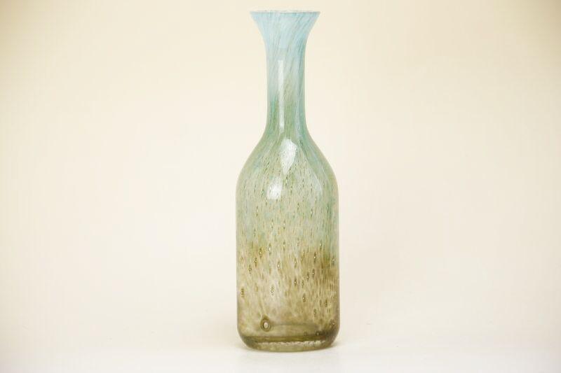 画像1: EKENAS SWEDEN John Orwar Lake Glass Vase/エケナス ガラスベース (1)