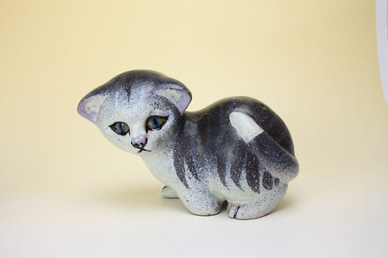 画像1: NITTSJO Thomas Hellstrom Katt/ニトア 仔ネコのオブジェ (1)