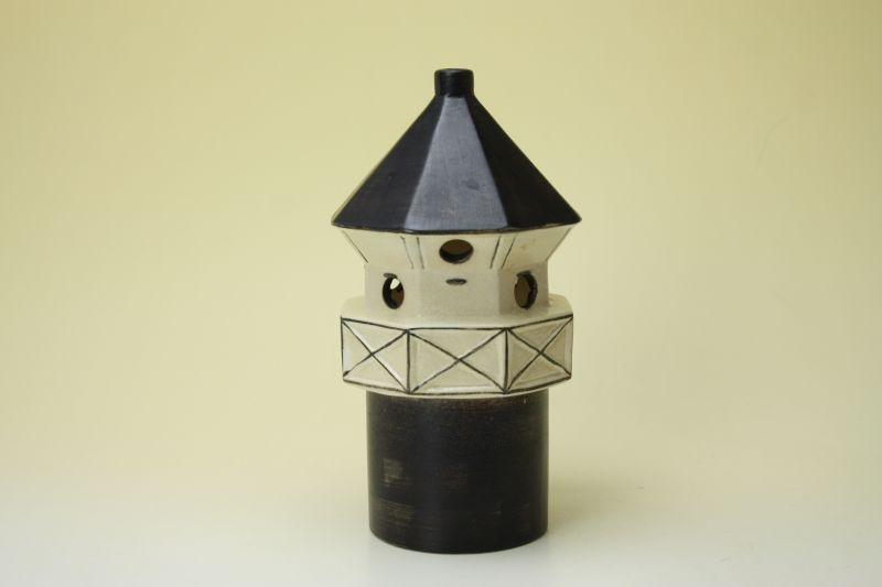 画像1: Lisa Larson Candle Holder/リサ・ラーソン 灯台 キャンドルホルダー (1)