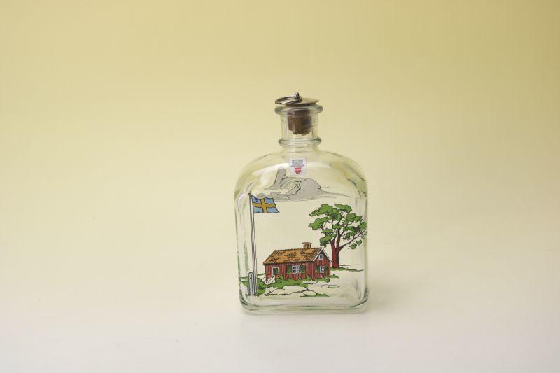 画像1: Holmegaard Decanter Karaff/ホルムガード ガラスボトル 北欧ハウス (1)