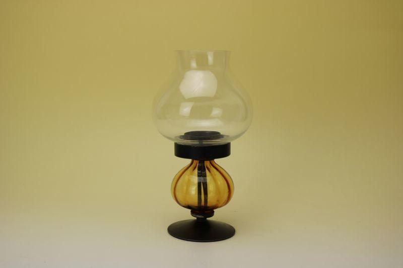 画像1: Erik Hoglund candle stand(Amber)/エリック・ホグラン キャンドルスタンド アンバー(LL) (1)