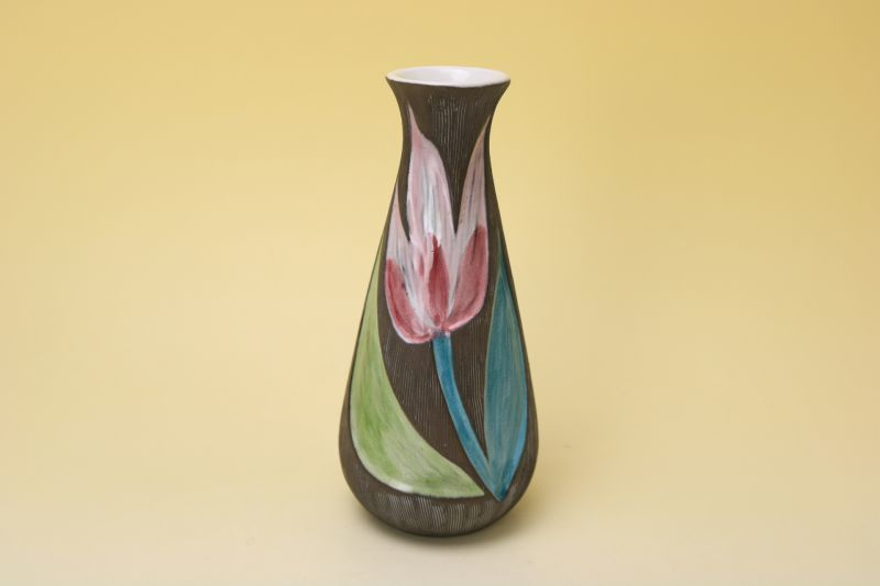 画像1: Upsala Ekeby Mari Simmulson Vase/マリー・シミュルソン フラワーベース (1)