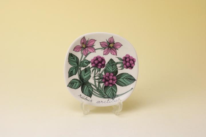画像1: ARABIA Botanica Rubus Arcticus/アラビア ボタニカ ウォールプレート  木イチゴ (1)