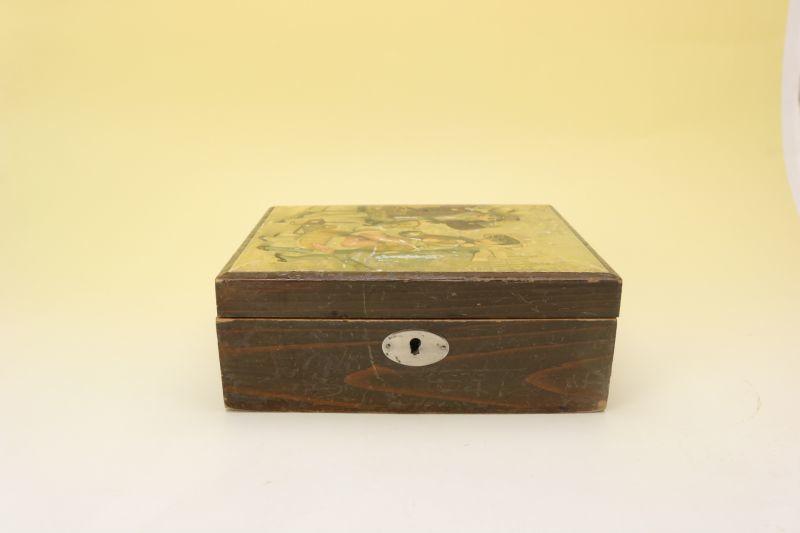 画像1: HERM.MEETHSソーイング ボックス&裁縫道具一式 (1)