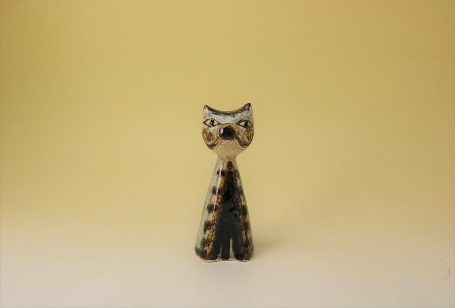 画像1: SOHOLM/DANSK JOSEPH SIMON Kat/ネコのオブジェ (1)