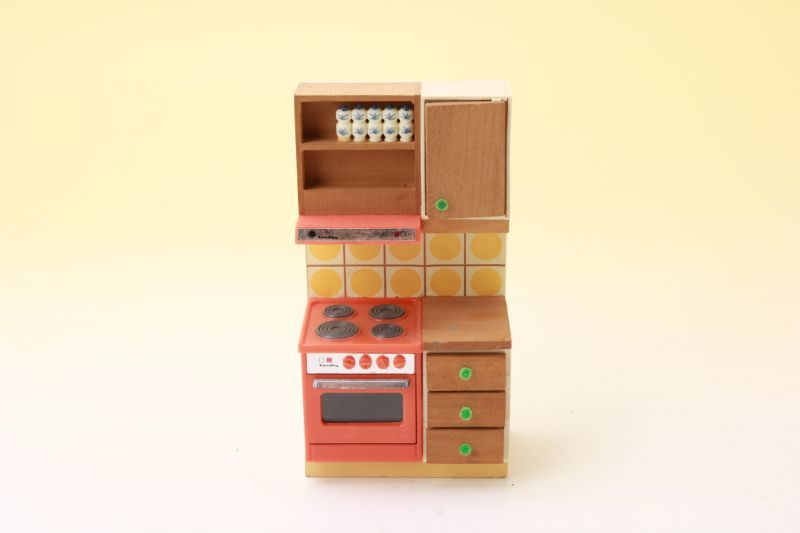 画像1: Lundbyドールハウス/ミニチュア家具 レンジ (1)