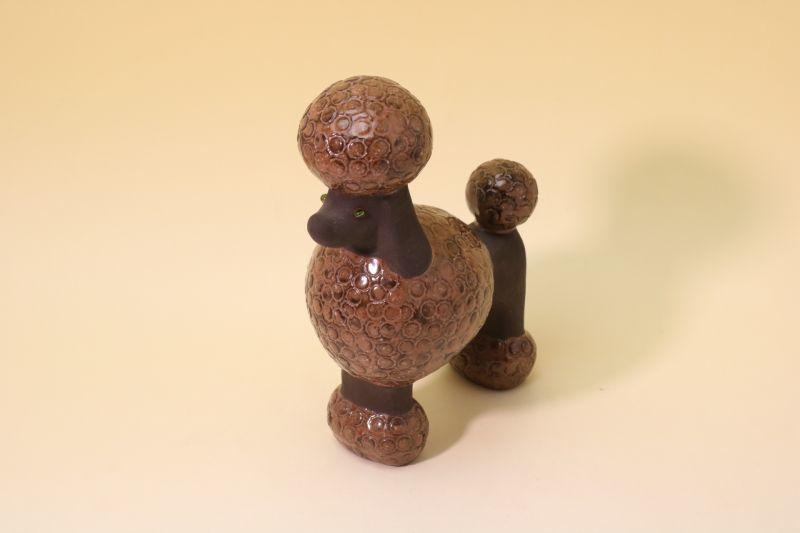 画像1: Keiwar Keramik Karl Erik Iwar/Pudel プードル (1)